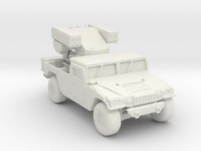 M1097 Avenger 160 scale in White Natural Versatile Plastic