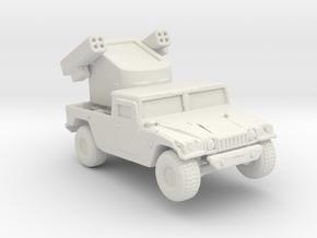 M1097a1 Avenger 160 scale in White Natural Versatile Plastic