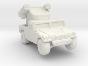 M1097a1 Avenger 285 scale in White Natural Versatile Plastic