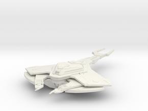 Cardassian Science Dreadnought in White Natural Versatile Plastic