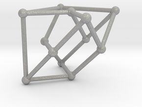 Cubic graph on 12 vertices with girth = 5, no. 1 in Aluminum: Small