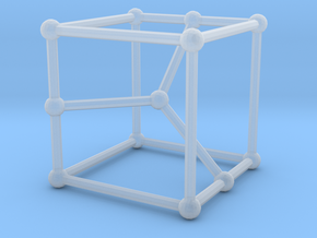 Cubic graph on 12 vertices with girth = 5, no. 2 in Smooth Fine Detail Plastic: Small