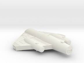 3788 Scale ISC Light Cruiser (CL) SRZ in White Natural Versatile Plastic