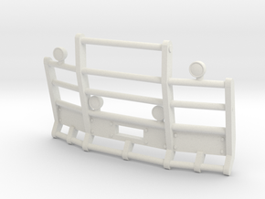 1/50th Herd or Road Train type angled bumper in White Natural Versatile Plastic