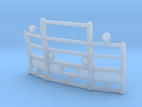 1/50th Herd or Road Train type angled bumper in Smooth Fine Detail Plastic