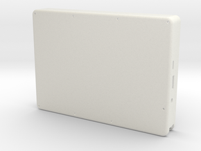 Raspberry Pi Tablet - Case in White Natural Versatile Plastic