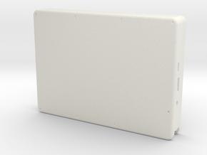 Raspberry Pi Tablet - Case in White Natural Versatile Plastic