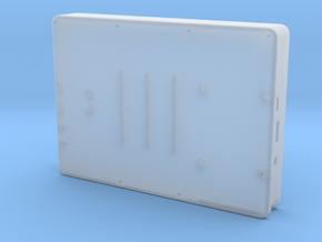 Raspberry Pi Tablet Bottom in Smooth Fine Detail Plastic