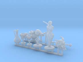 Altar, Magic, and Ritual items for roleplay games. in Smooth Fine Detail Plastic