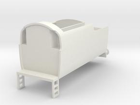 b-100-q1-loco-tender in White Natural Versatile Plastic