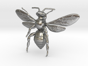 beeBee in Natural Silver