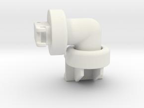 VOSCH tiltrotator in White Natural Versatile Plastic: 1:50