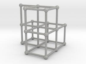 Fibonacci cube of order 6 in Aluminum