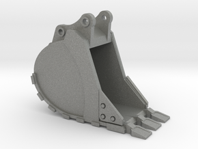 1:50 Trench Bucket +Spade teeth for 20T excavators in Gray PA12