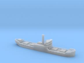 Three island cargo ship 1/1800 in Smooth Fine Detail Plastic