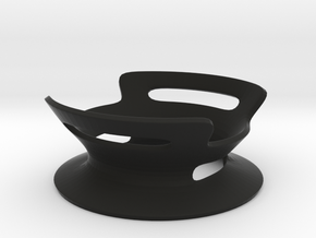 BASE - A - ( Ornament Series ) in Black Natural Versatile Plastic