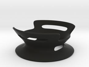 BASE - A - ( Ornament Series ) in Black Natural Versatile Plastic