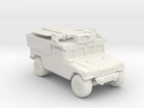 M1097a2 ADS 160 scale in White Natural Versatile Plastic