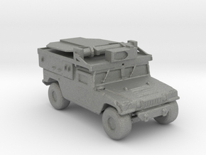 M1097a2 ADS 160 scale in Gray Professional Plastic