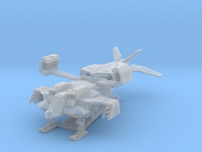 scifi UD4Ldropship in Smoothest Fine Detail Plastic: 1:400