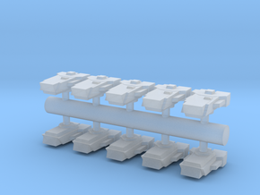 10 Aggressor assault boats in Smooth Fine Detail Plastic