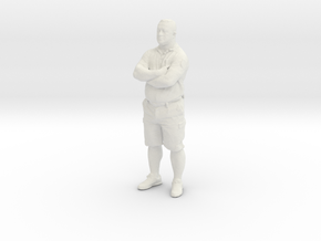 Printle C Homme 407 - 1/32 - wob in White Natural Versatile Plastic