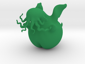 Blobbythulhu in Green Processed Versatile Plastic