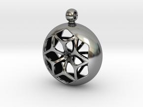 TOROIDE ZOME in Antique Silver