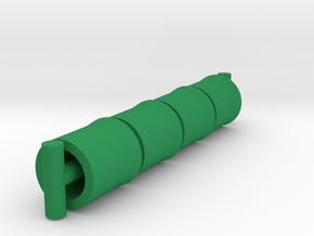 Repto Membros Aloros Wrist Cuffs in Green Processed Versatile Plastic