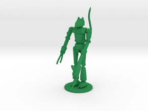 Verminus 2 Inch Figurine in Green Processed Versatile Plastic