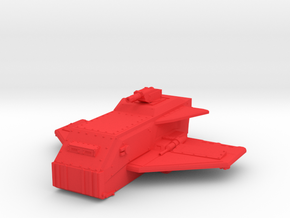 The Flying Brick Troop and Vehicle Transporter in Red Processed Versatile Plastic
