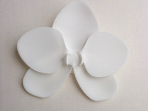 Orchid in White Natural Versatile Plastic
