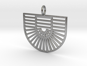 New Greek Flag 1B in Natural Silver