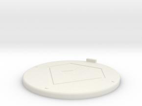 Base Zent ø40 in White Natural Versatile Plastic