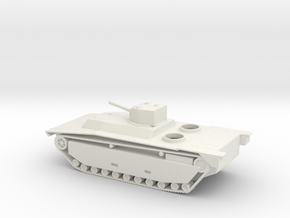 1/100 Scale LVT(A)-1 in White Natural Versatile Plastic