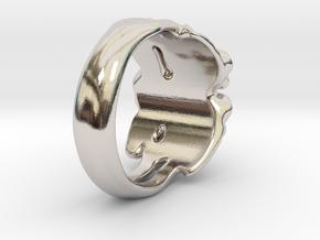 Rose Ring. in Platinum: 7 / 54