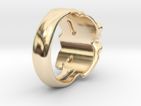 Rose Ring. in 14K Yellow Gold: 7 / 54