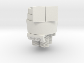 1379:1 Gear Set, Mechanical Desk Art in White Natural Versatile Plastic