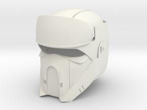 Shore trooper in White Natural Versatile Plastic
