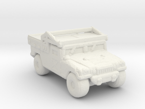 M1097A2 CUSV 285 scale in White Natural Versatile Plastic