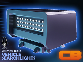 CB Umbra Eagles Searchlight LED S* 28mm in Smoothest Fine Detail Plastic