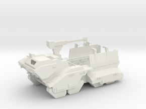 Elephant - Heavy Ground Vehicle in White Natural Versatile Plastic