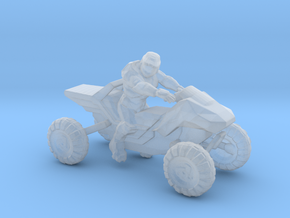Spartan on Mongoose in Smooth Fine Detail Plastic