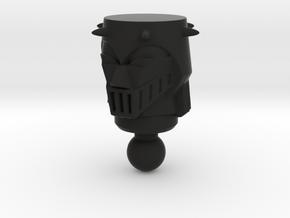 Baron Karza Head For Time Traveler in Black Natural Versatile Plastic