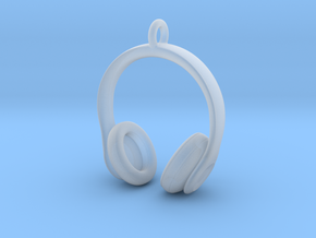 Headphones Jewel in Smooth Fine Detail Plastic