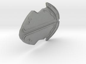 Stone Kind Fantasy Armor  in Gray Professional Plastic: Small