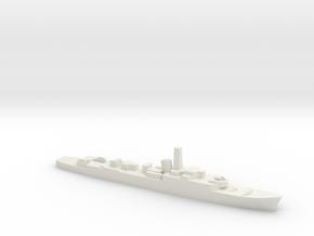 HMS Troubridge (1969), 1/2400 in White Natural Versatile Plastic