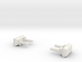 1/87 Mini light bars in White Natural Versatile Plastic