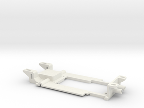 Carrera Universal for 132 Fly M1 Chassis Procar in White Natural Versatile Plastic