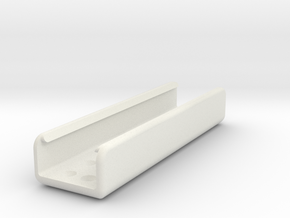 Juul Skateboard Deck Case in White Natural Versatile Plastic